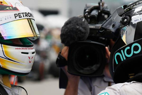 Lewis Hamilton and Nico Rosberg Rivalry