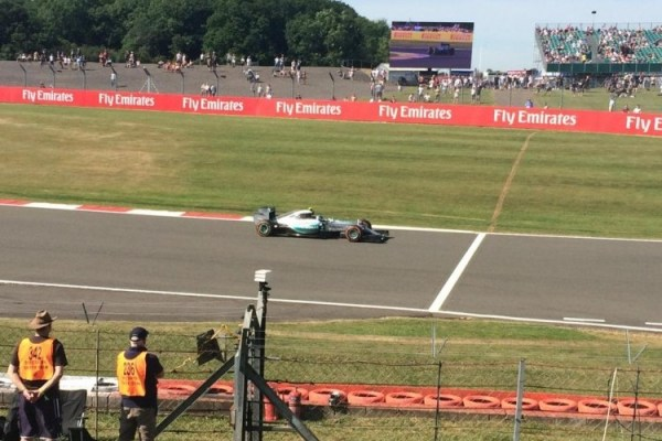 Live from Silverstone