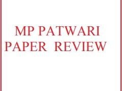 MP Patwari Question paper Review - Date 10 Dec 2017 मध्यप्रदेश पंचायती राज्य एवं ग्रामिण अर्थव्यवस्था से पूछे गए प्रश्न :- किस समयकाल को पंचायती राज्य