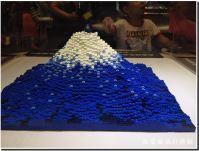 Piece of Peace LEGO 富士山