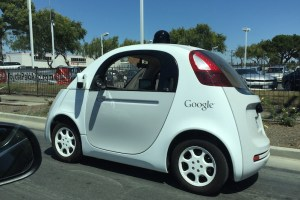Google self-driving mini car