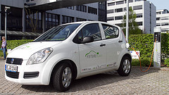 SAP Future Fleet electric vehicle