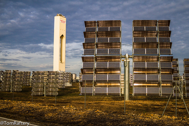 Concentrating solar power array