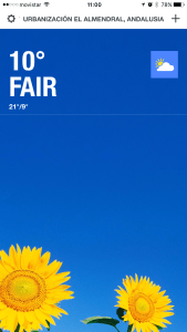 Weather Channel screenshot