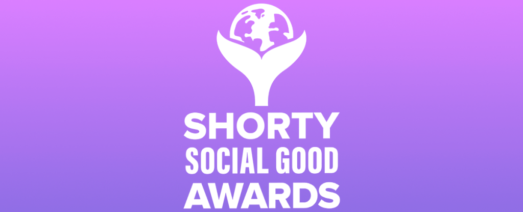 Graphic for the Shorty Social Good Awards