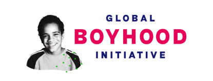 Graphic for Entertain Impact's social impact campaign: the Global Boyhood Initiative
