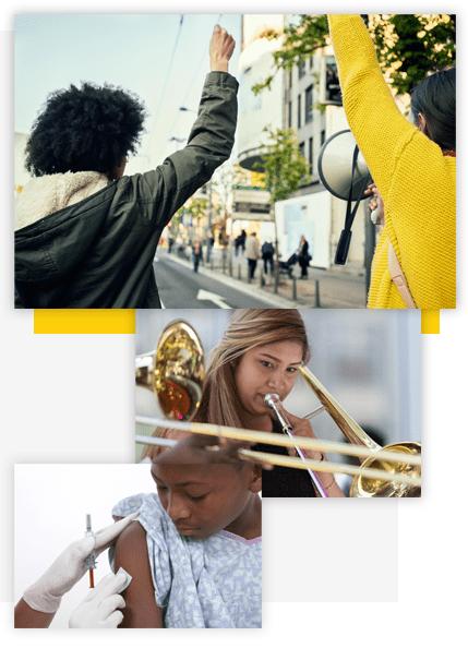non-profit-campaigns-protest-march-music-education-polio-vaccination