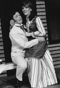 "Betsy Hepburn & Dennis Britten in ""Carousel"""