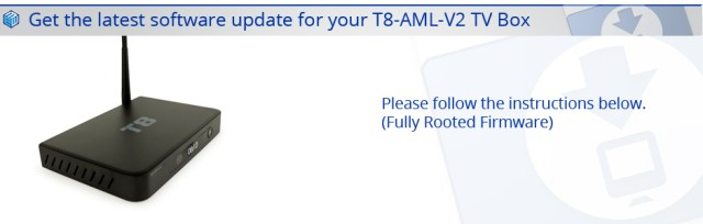 LATEST T8-AML-V2 FIRMWARE DOWNLOAD