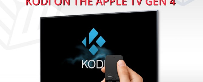Install Kodi Apple TV 4
