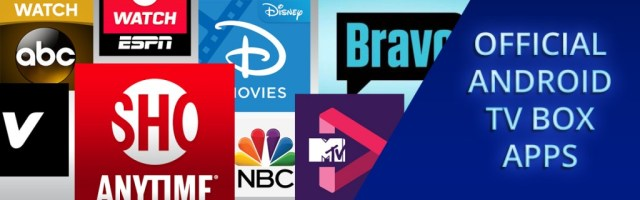 Official Apps for Smart TV Boxes