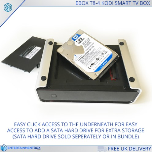 Internal SATA bay for HDD