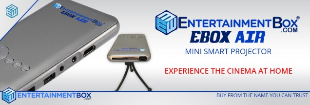 Ebox Air Mini Projector Android