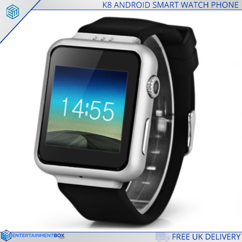 K8 Android powered Smart Watch Phone