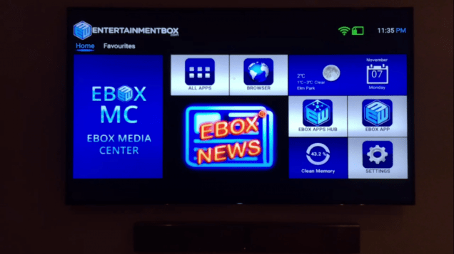 About EntertainmentBox Smart TV boxes Android Powered TV boxes