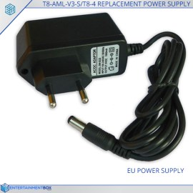 Replacement EU Power Supply Adaptor T8 AML V3 S T8 4 Plug