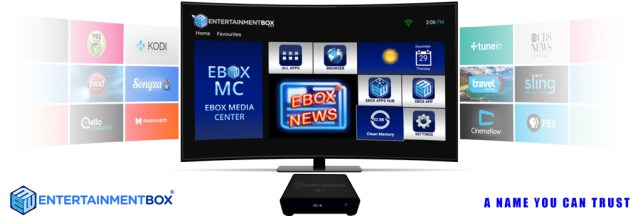 Apps on the new T8 V TV box