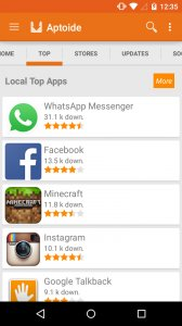 Aptoide App top picks