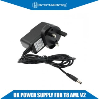 Replacement UK Power supply Adapter plug PSU G-Box MX2 M8 MXQ MX3 RK3188 Android