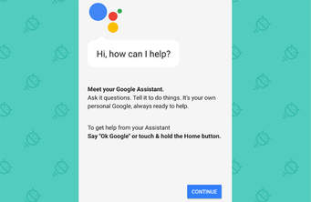 Google Assistant page