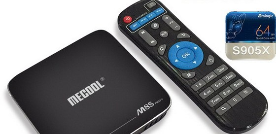 Latest Mecool M8S Pro Plus TV Box Firmware Download Android Nougat