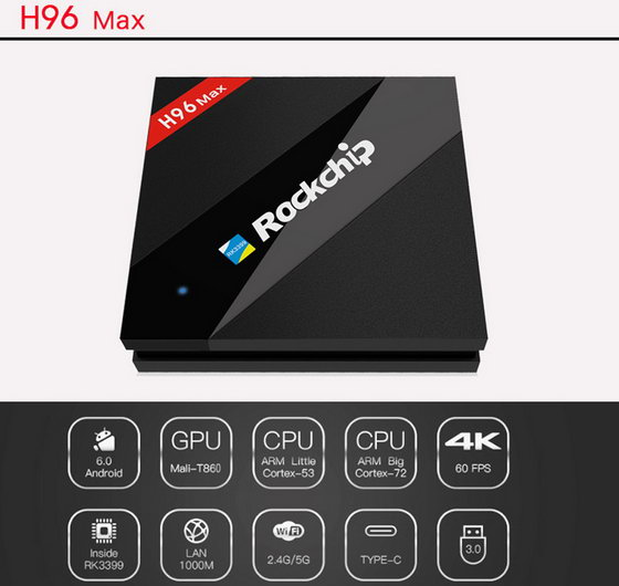 Latest H96 Max TV Box Firmware Download Android Marshmallow 6.0.1
