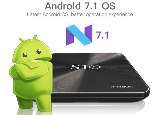 Latest R-TV BOX S10 Firmware Download Android 7.1