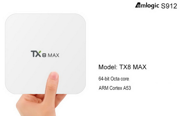 Latest Tanix TX8 MAX TV Box Firmware Download Android Nougat 7.1.2