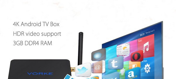 Latest Vorke Z1 TV Box Firmware Download Android 7.1.1