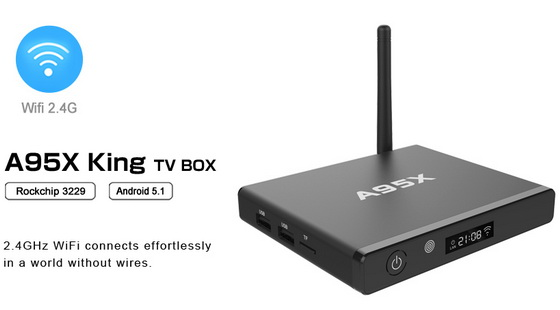 Latest Nexbox A95X King TV Box Firmware Download Android Lollipop 5.1.1