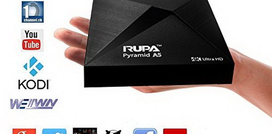 Latest RUPA Pyramid A5 TV Box Firmware Download Android Marshmallow 6.0