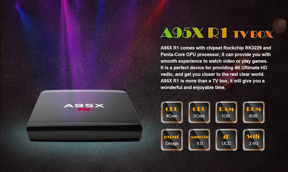 Latest A95X R1 TV Box Android Lollipop 5.1.1 Firmware