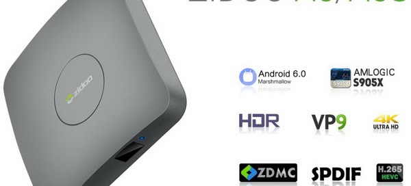 Latest Zidoo A5 TV Box Firmware Download Android Marshmallow 6.0