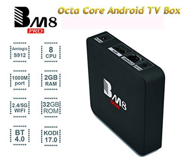 Latest BM8 Pro TV Box Firmware Download Android Marshmallow 6.0