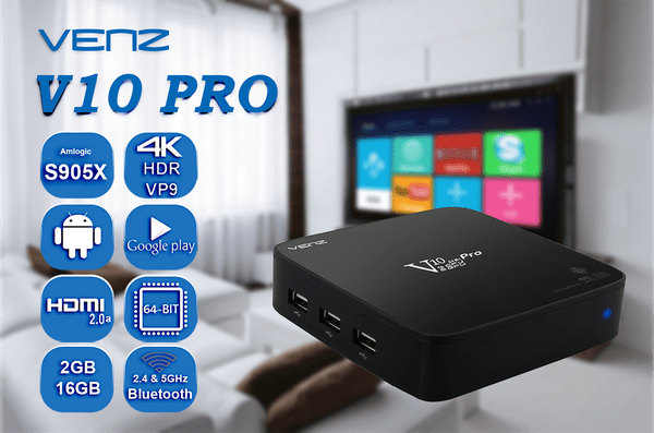 Latest Venz V10 Pro TV Box Firmware Download Android Marshmallow 6.0