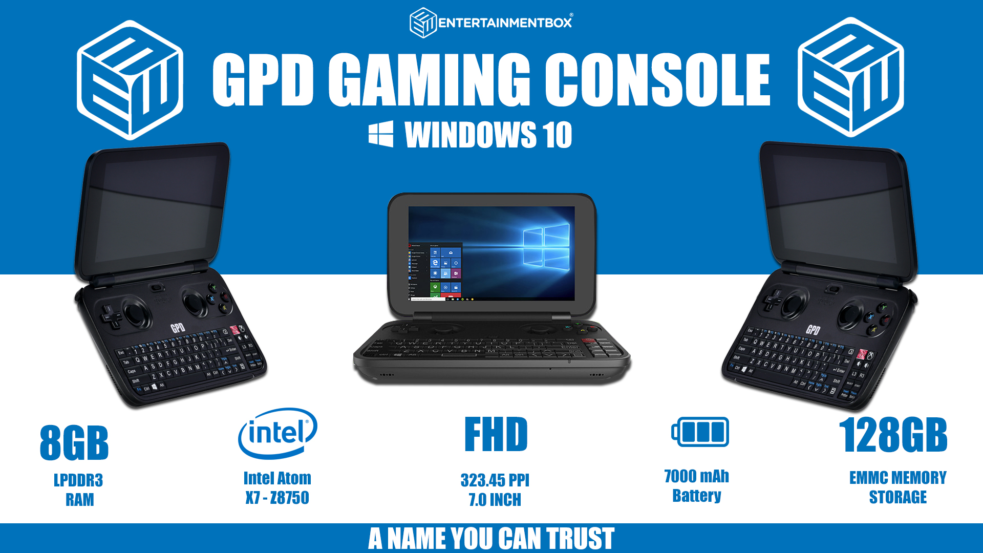 GPD Win Console Windows 10
