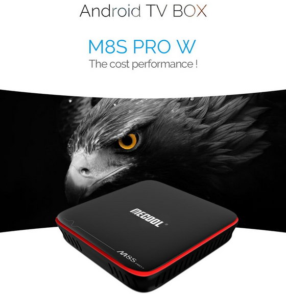 Latest Mecool M8S PRO W TV Box Firmware Download Android Nougat 7.1