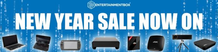 A happy New Year from Entertainment Box! January sales now on!