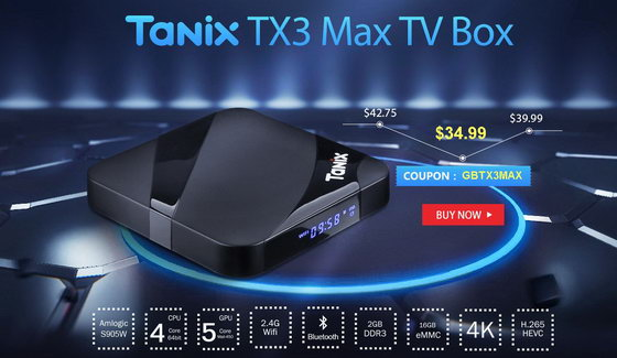 Latest Tanix TX3 Max TV Box Firmware Download Android Nougat 7.1