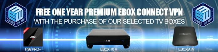 Free VPN for 1 Year on selected TV boxes