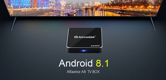 Latest Alfawise A8 TV Box Firmware Download Android 8.1