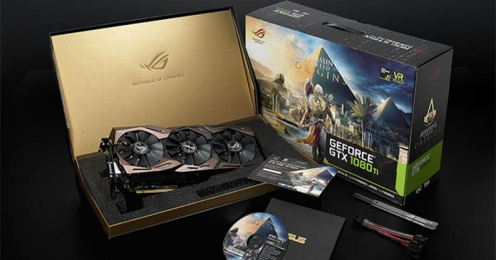 ASUS ROG has a new special graphic Assassin's Creed Origins