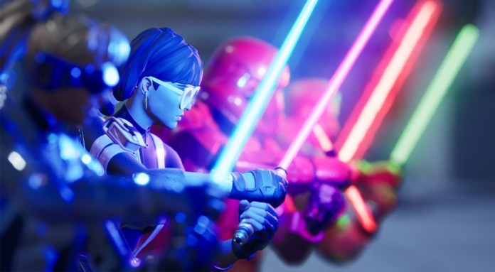 Fortnite introduced the Star Wars lightsaber and the fans are crazy! (video)