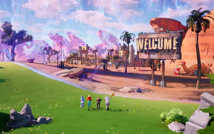 Fortnite welcomes the Borderlands! Come meet the new crossover!