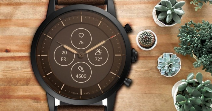 """Fossil Hybrid Smartwatch is the perfect balance between """"Past and Future"""""""