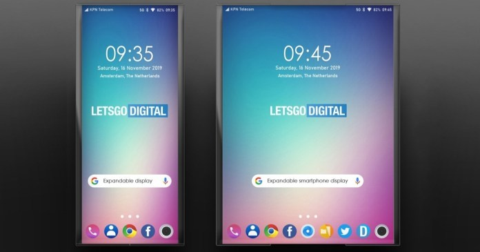 LG wants to revolutionize the smartphone market with an expandable screen!