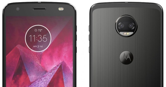 Motorola Moto Z2 Force for the first time in real images