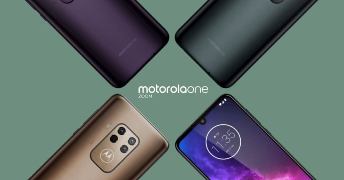 Motorola One Zoom: Design Details and Specifications Revealed