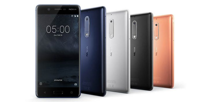 Android Smartphone Nokia 5 Portugal