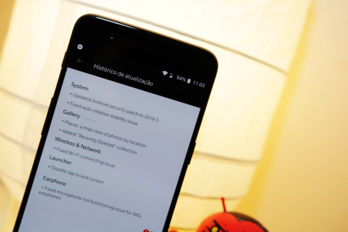 OnePlus 5 OnePlus 5T Android OxygenOS 5.1.2